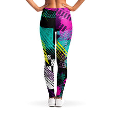 Load image into Gallery viewer, 80s Retro Print Leggings
