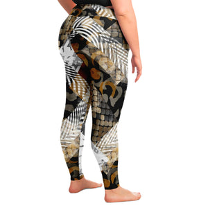 Animal Print Plus Size Leggings
