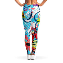 Load image into Gallery viewer, Pop Art Leggings