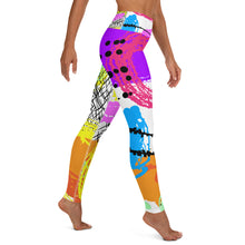 Load image into Gallery viewer, 80s Retro Print Yoga Leggings
