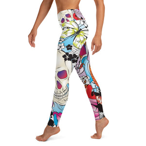 Skull Yoga Leggings
