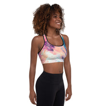 Load image into Gallery viewer, Tie Dye Padded Sports Bra