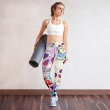 Load image into Gallery viewer, Skull Yoga Leggings