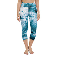 Load image into Gallery viewer, Tie Dye Yoga Capri Leggings