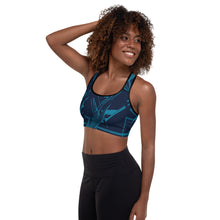 Load image into Gallery viewer, Abstract Padded Sports Bra