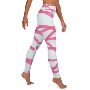 Stripe Yoga Leggings