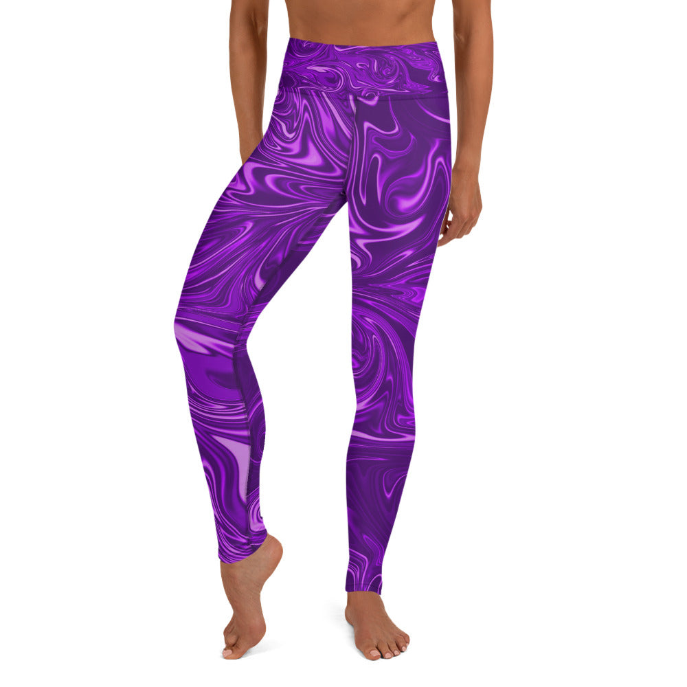 Psychedelic Yoga Leggings