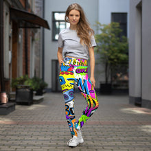 Load image into Gallery viewer, Pop Art Yoga Leggings