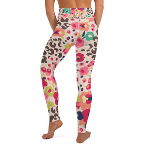 Floral Print Yoga Leggings