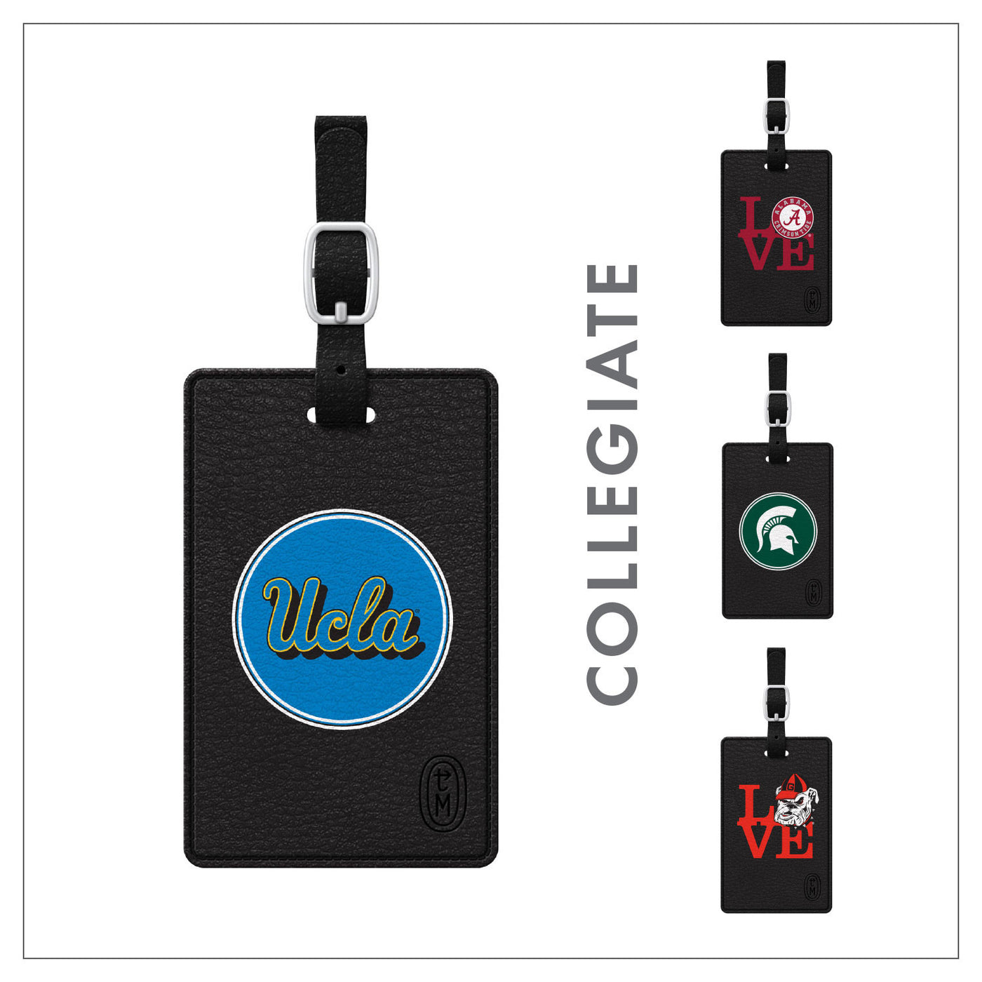 Collegiate Luggage Tags