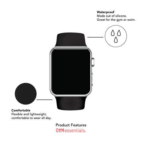 Silicon Watchband for Apple Watch