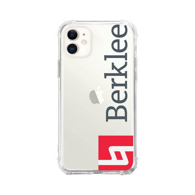 Berklee College of Music Clear Tough Edge Phone Case, Cropped V1 - iPhone 11