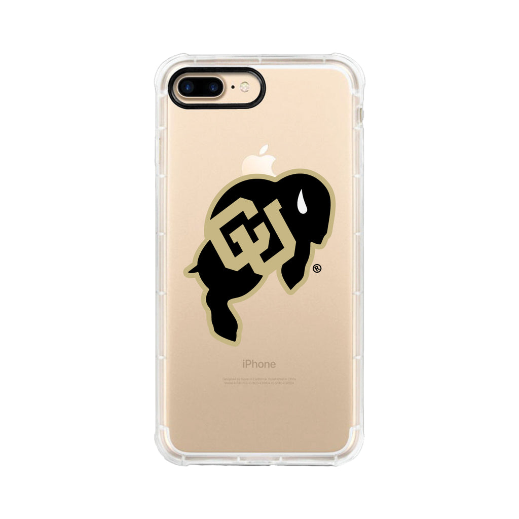 University of Colorado, Tough Edge Phone Case, Classic Clear