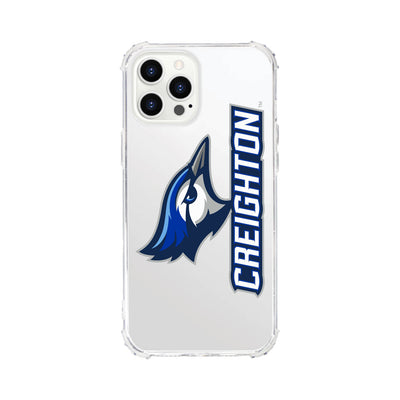 Creighton University V2 Clear Tough Edge Phone Case, Classic V1 - iPhone 12 Pro