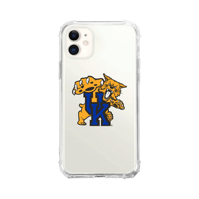 University of Kentucky V2 Clear Tough Edge Phone Case, Classic V2 - iPhone 11