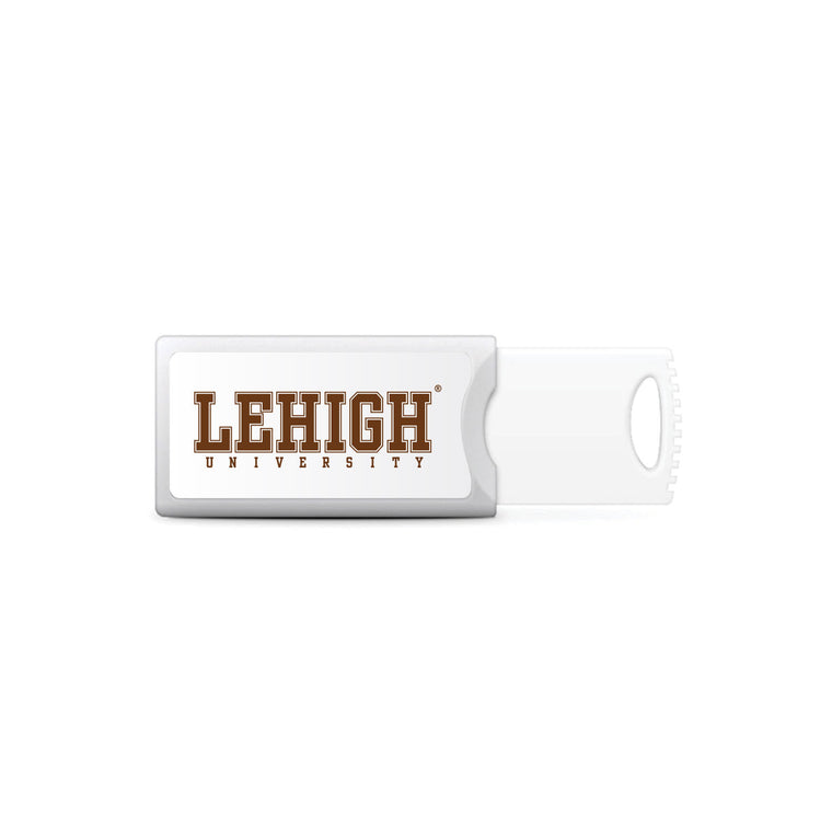 OTM Essentials Push USB Flash Drive Lehigh University
