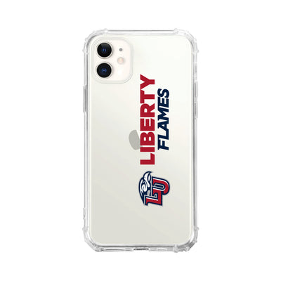 Liberty University Clear Tough Edge Phone Case, Classic V2 - iPhone 11
