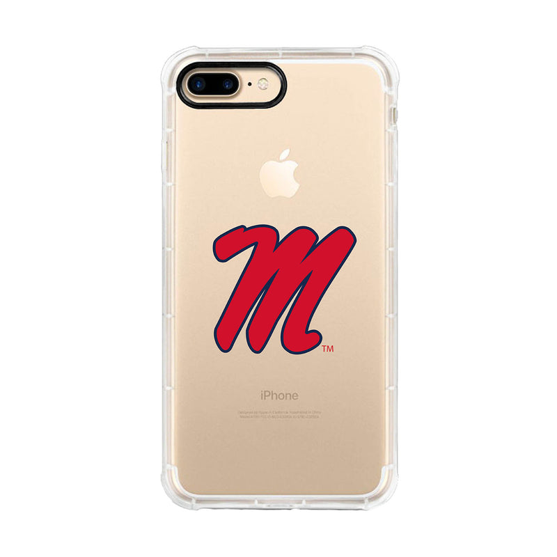 University of Mississippi, Tough Edge Phone Case, Classic Clear