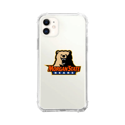 Morgan State University Clear Tough Edge Phone Case, Classic V2 - iPhone 11