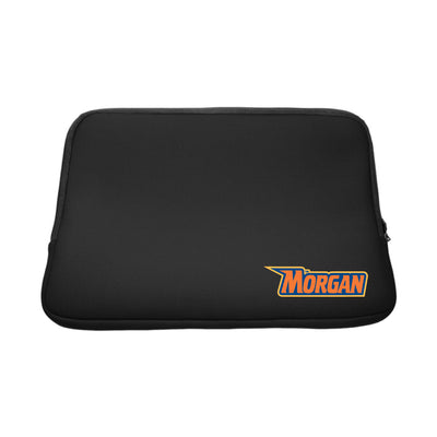 Morgan State University Black Laptop Sleeve, Classic V2 - 14""