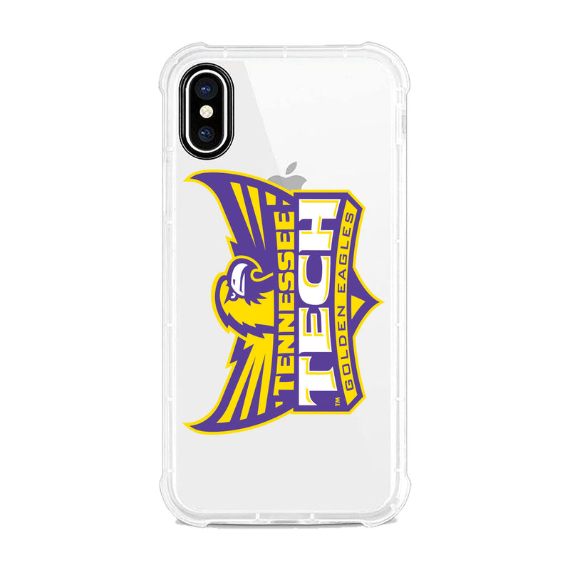 Tennessee Technological University, Tough Edge Phone Case, Classic Clear