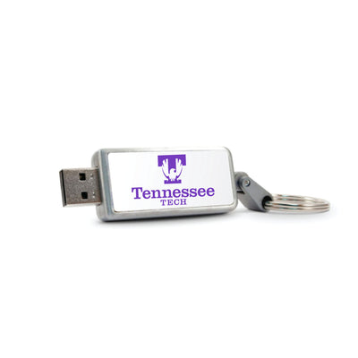 Tennessee Technological University Keychain USB Flash Drive, Classic V1 - 16GB
