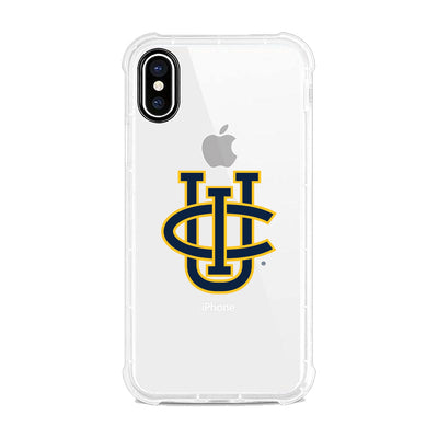 University of California-Irvine Clear Rugged Edge Phone Case, Classic V2 - iPhone XS Max
