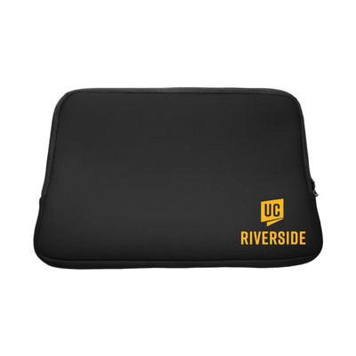 University of California - Riverside V2 Black Laptop Sleeve, Classic V1 - 14""