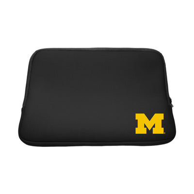 University of Michigan V2 Black Laptop Sleeve, Classic V1 - 14""