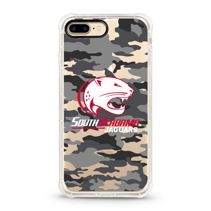 University of South Alabama, Tough Edge Phone Case, Camo Clear