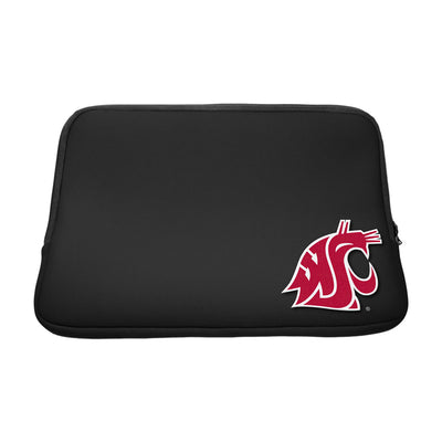 Washington State University Black Laptop Sleeve, Classic V1 - 14""