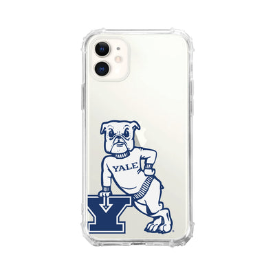 Yale University Clear Tough Edge Phone Case, Cropped V1 - iPhone 11
