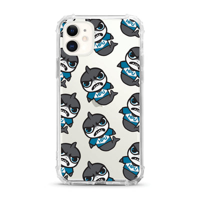 Hawaii Pacific University (Tokyodachi) Clear Tough Edge Phone Case, Mascot V2 - iPhone 11