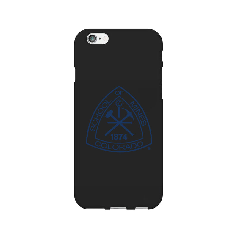 Colorado School of Mines, Tough Edge Phone Case, Classic Clear