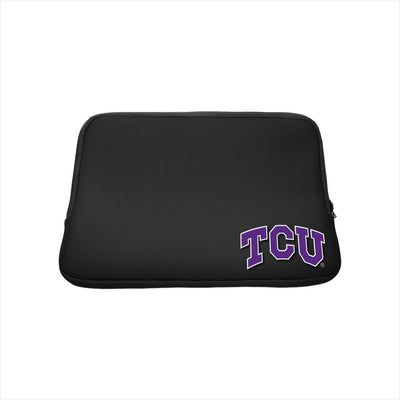 Texas Christian University Black Laptop Sleeve, Classic - 15""