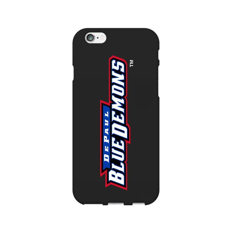 DePaul University, Tough Edge Phone Case, Classic Clear