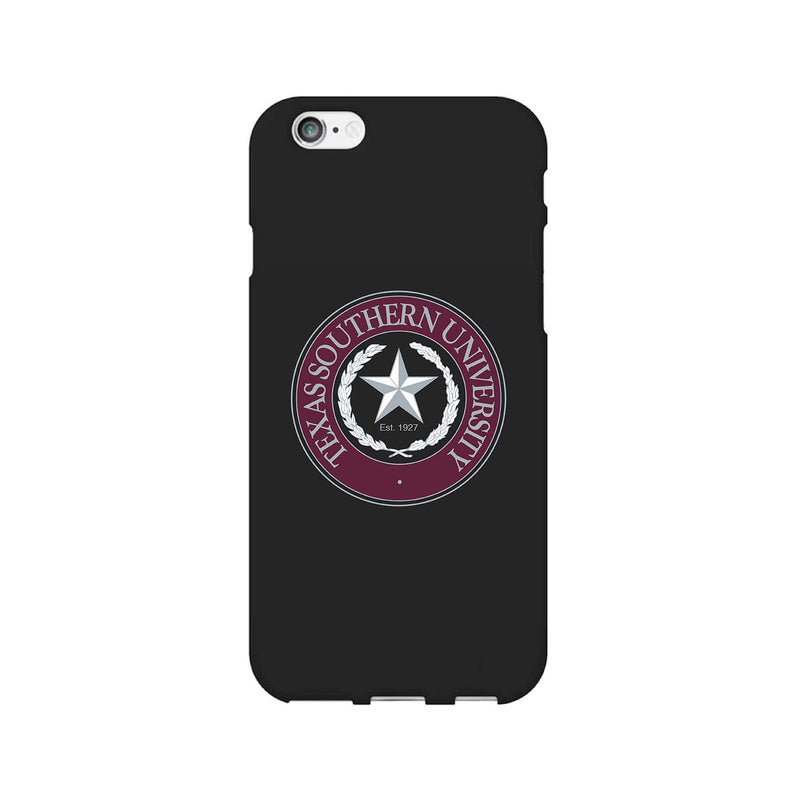 Texas Southern University, Tough Edge Phone Case, Classic Clear