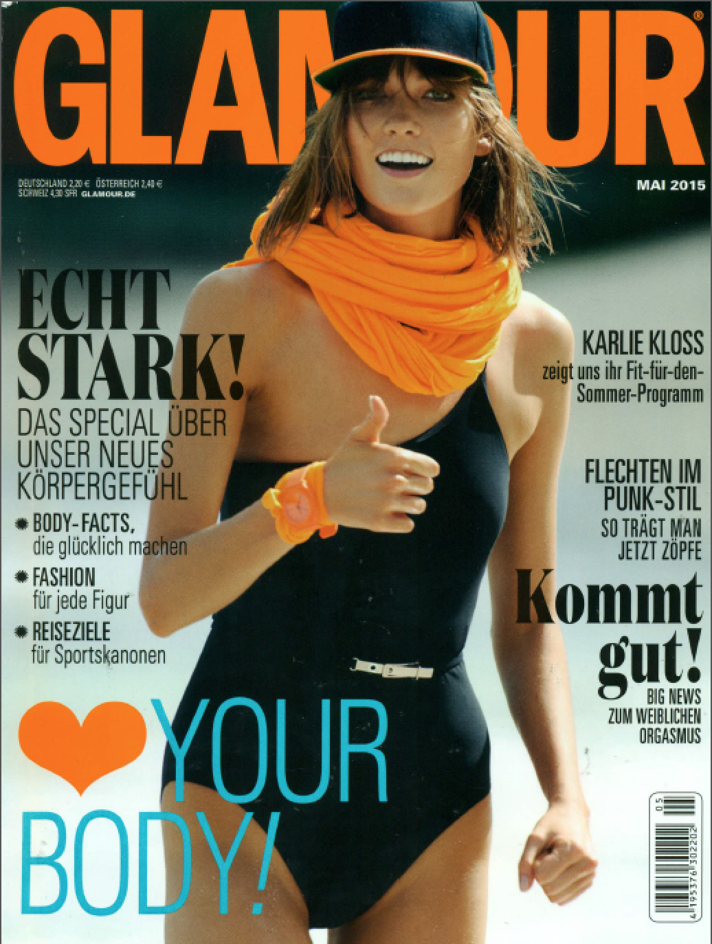 Color Me Automatic Foundation Applicator Featured In Glamour Germany