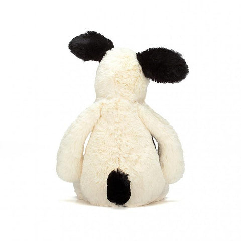 Jellycat Bashful Puppy Medium Cream & Black