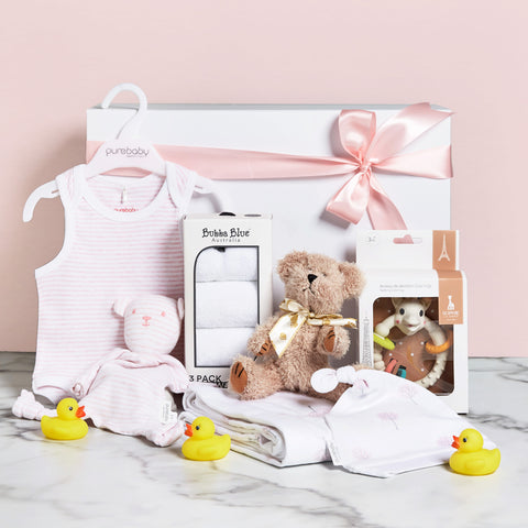 Little Darling Baby Girl Hamper