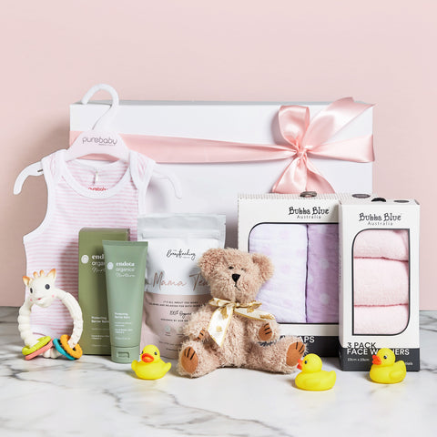 My Little Sunshine Baby Girl Hamper