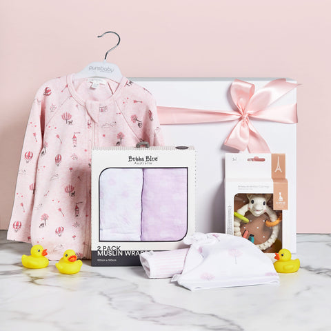 Fairytale Baby Girl Hamper