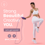 Üla Workout Essentials Set with Bootybands, Hip Band, Speed Jump Rope and Resistance bands Masterclass