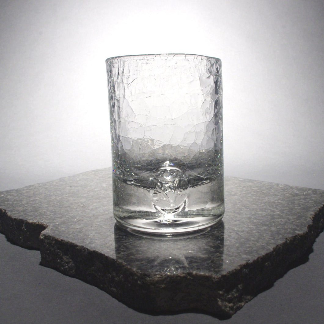 clear old fashioned glass