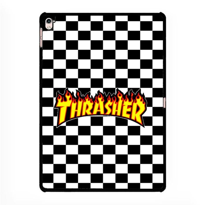 trasher black white,Mobile Phone Cases,IPAD PRO 12.9