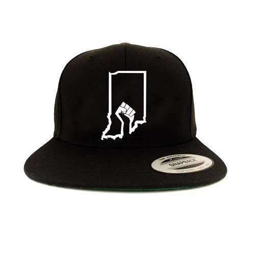 Indiana BLM Snapback Hat