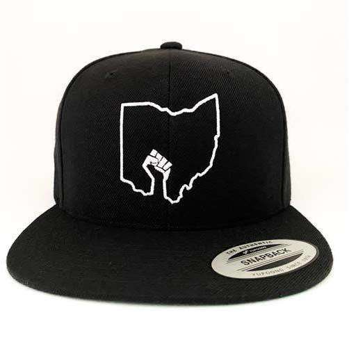 Ohio BLM Snapback Hat