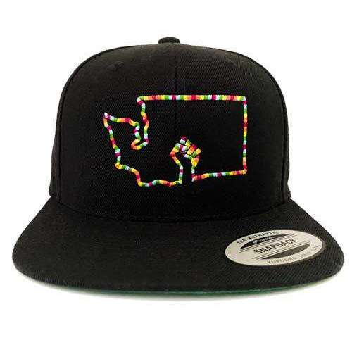 Washington BLM StayTru3 Snapback Hat