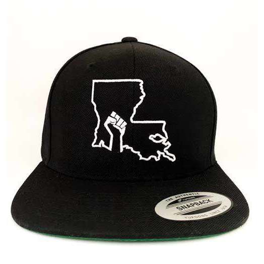 Louisiana BLM Snapback Hat