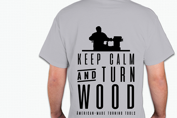 Wood lathe turning tool shirt by Carter and Son Toolworks.